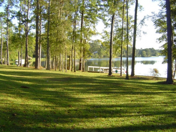Golden Eagle Golf Plantation Green Space, Lake, and Dock