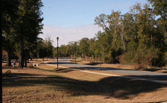 Paved Roads, Sidewalks and Streetlights Magnolia Forest Subdivision Lots for Sale in Quincy, FL by Debbie Kirkland, Realtor Armor Realty of Tallahassee