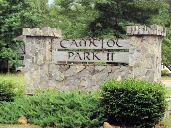 Camelot Neighborhood Entrance in Tallahassee, Florida